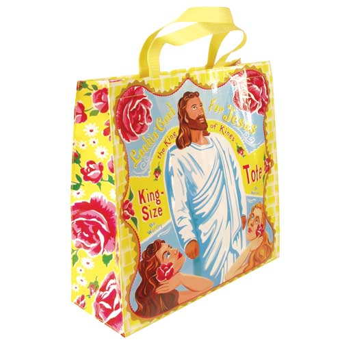 Looking good for Jesus tote