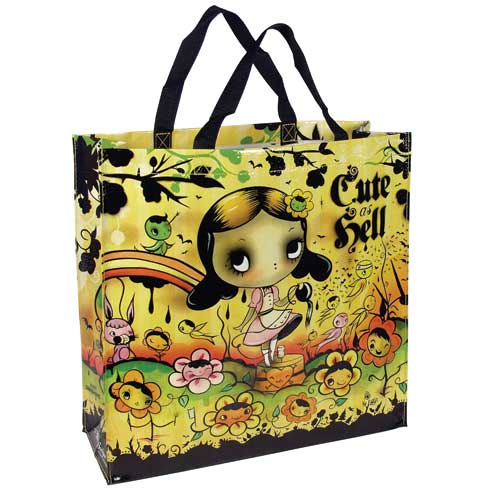 Cute as Hell tote