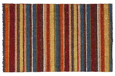 stripy doormat