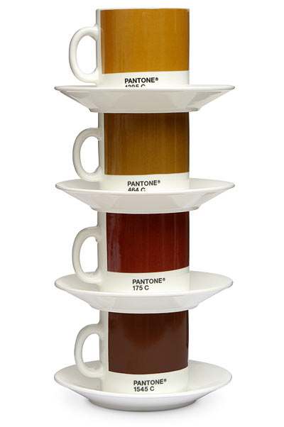 Pantone matched espresso cups