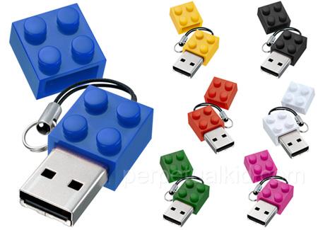 Flash drive that looks like Lego