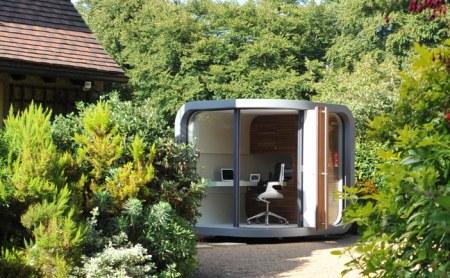 OfficePod in garden