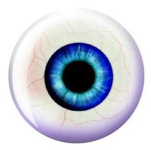 Eyeball bowling ball - gah!