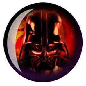 Darth Vader bowling ball