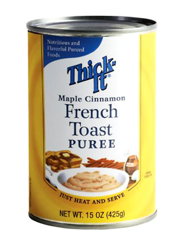 French toast puree in a can
