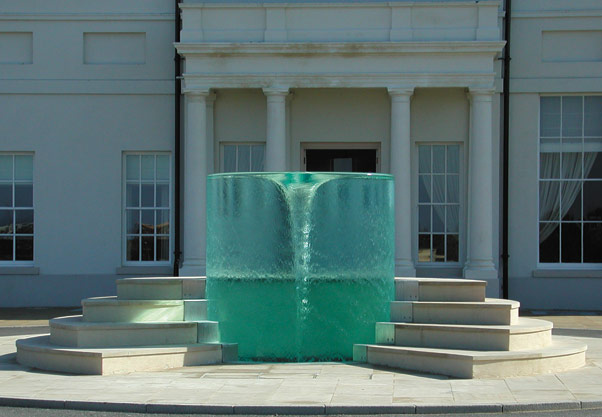 William Pye's whirlpool fountain