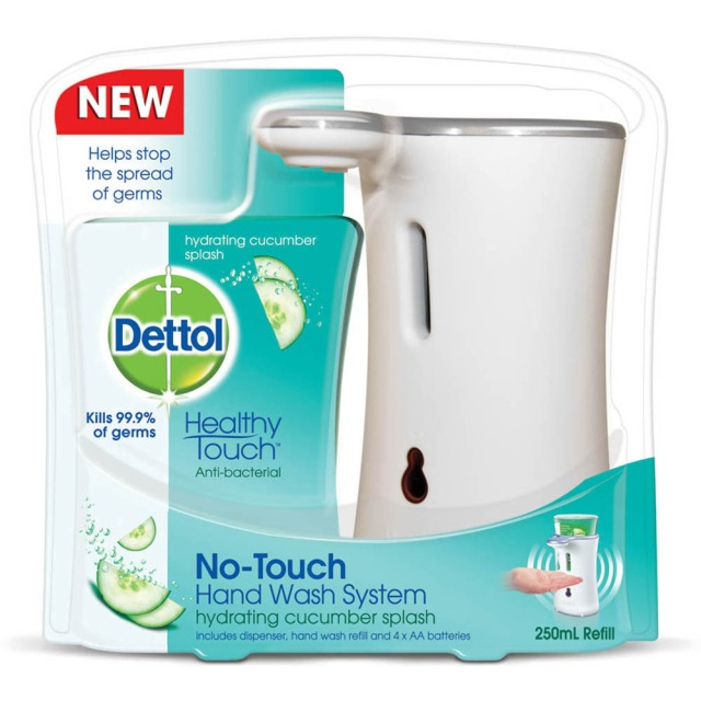 Dettol handwash station