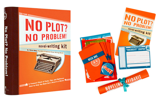 Novel writing kit