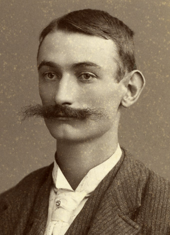 Man with astounding moustache