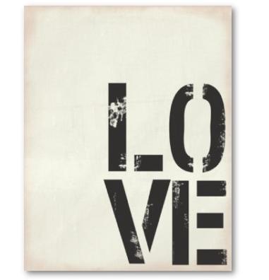 Love love, big big love