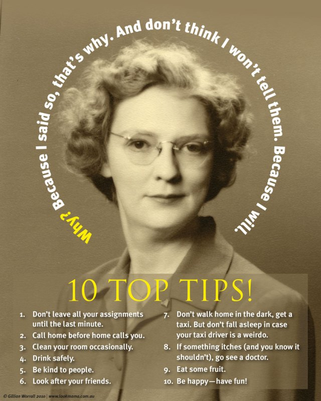 Look Mama's Ten top tips for keeping yourself nice