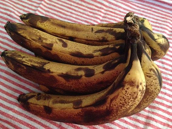 Manky old bananas