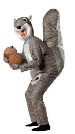 Mental dress up. A squirrel.