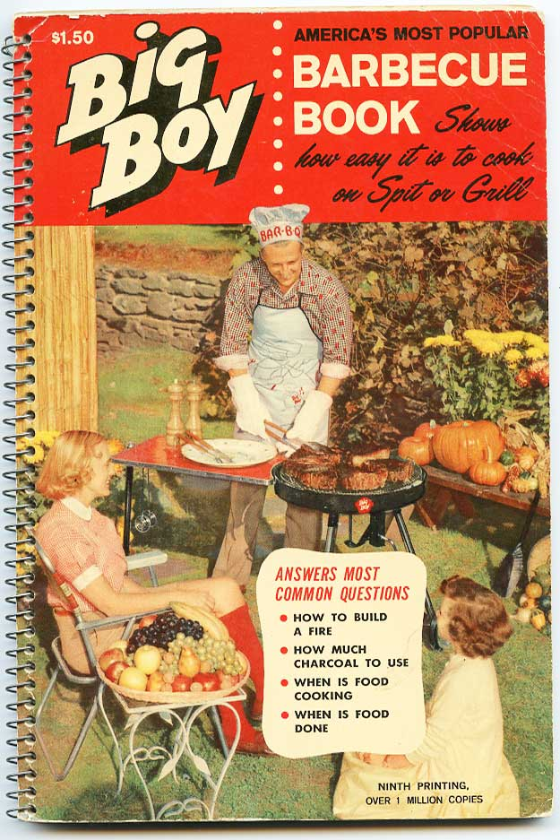 Cover of 1963 version of Big Boy BBQ handbook