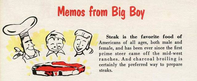 Steak is the favourite food of Americans says this sweeping statement