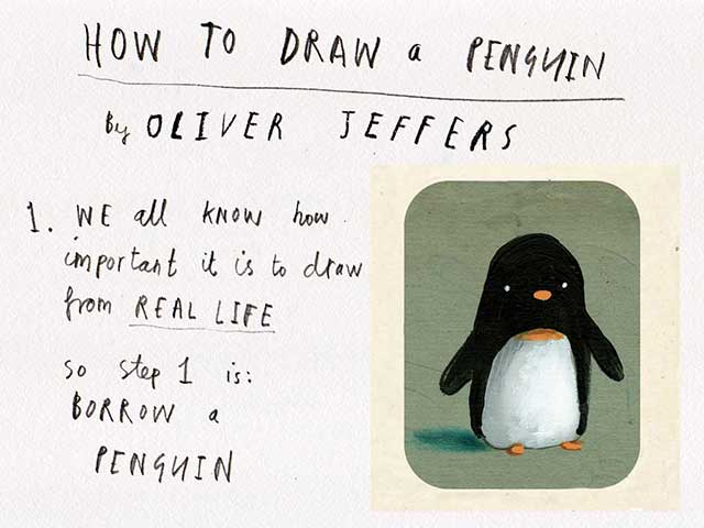 How to Draw a Penguin guide