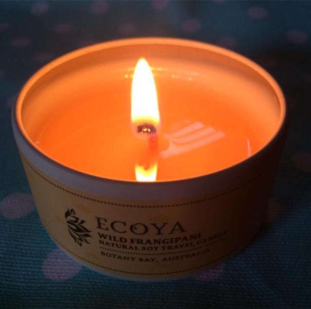Pretty candle